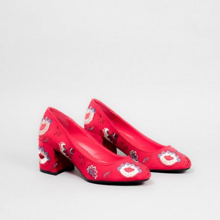 Pantofi dama LISA rosu