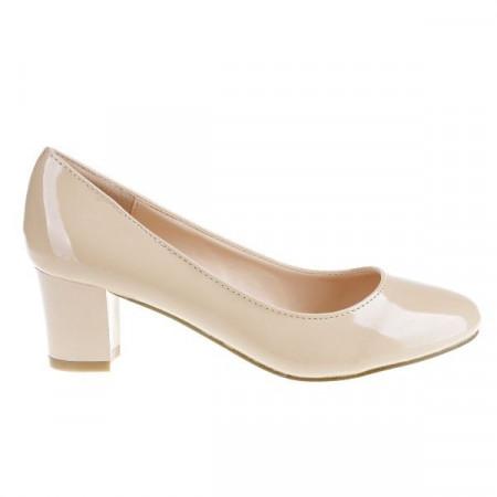 Pantofi Hanna beige
