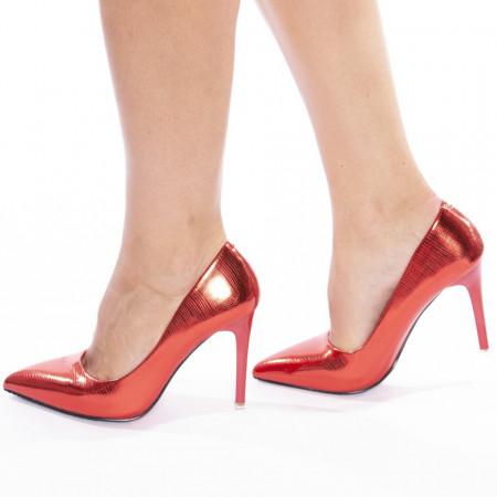 Pantofi stiletto cu toc inalt Carlita