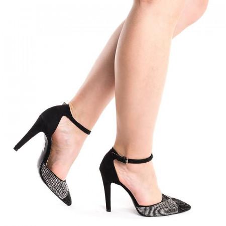 Pantofi stiletto decupati Ana maria