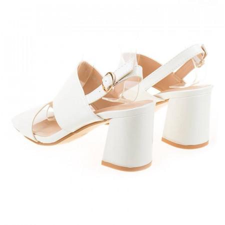 Sandale cu toc chic Maria