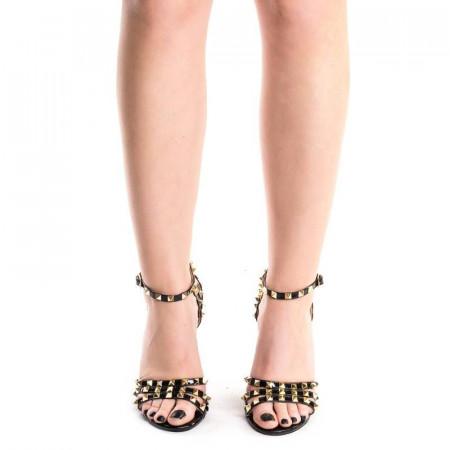Sandale cu toc si tinte elegante Amira
