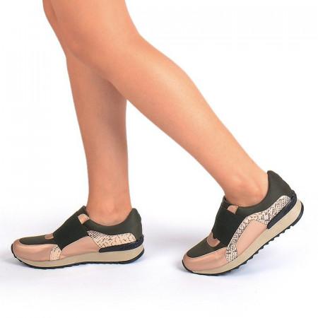 Sneakers stil balenciaga bronze Bianca