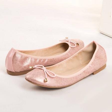 Balerini casual Natalie roz