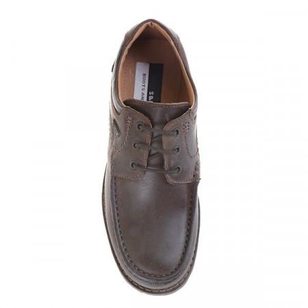 Pantofi casual din piele naturala Ambrogino
