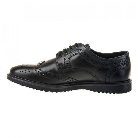 Pantofi casual oxford din piele naturala Atilio