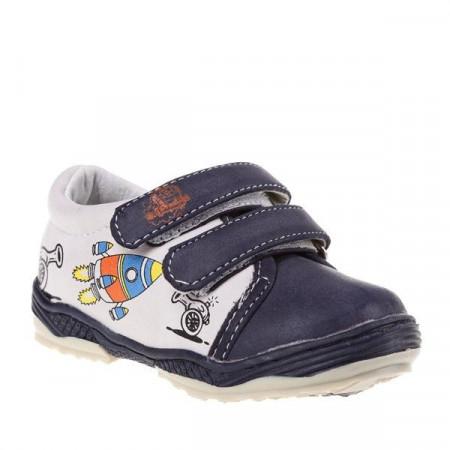 Pantofi copii Rocket blue/beige marimi 21-26