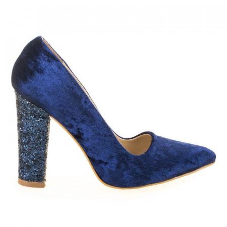Pantofi de ocazie din velur Tina