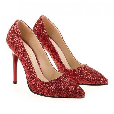 Pantofi de ocazie glitter Amira