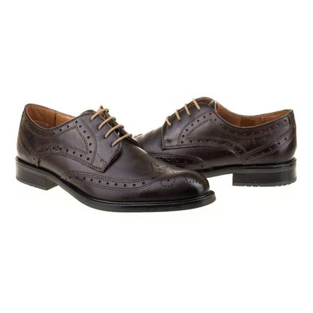 Pantofi office din piele naturala italiana Erminio