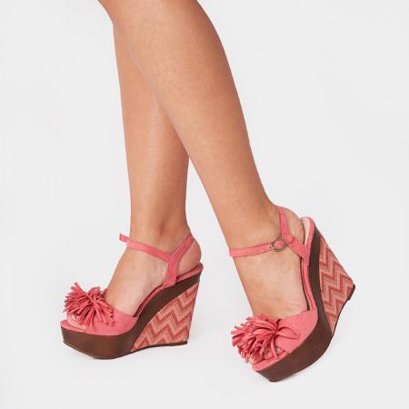 Sandale dama, CALISTA, Coral