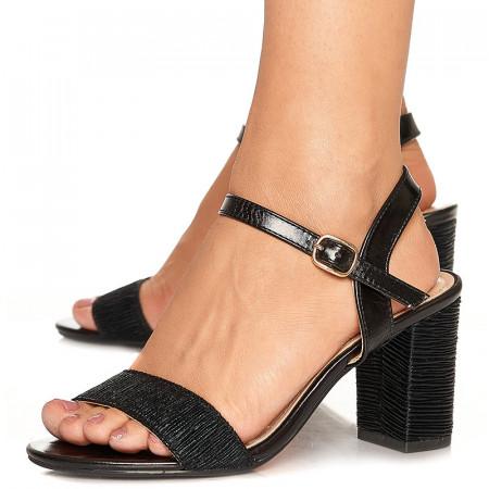 Sandale de ocazie cu toc mediu Rebeca