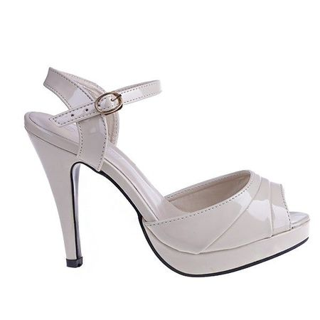 Sandale Gloria bej/pat