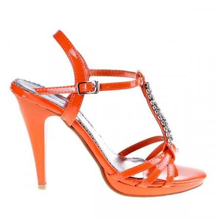 Sandale ocazie Altesse orange