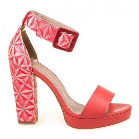 Sandale trendy cu toc Amalia