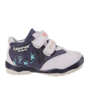Pantofi copii Tom Tom beige /blue marimi 21-26