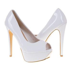 Pantofi cu toc si platforma Cecilia