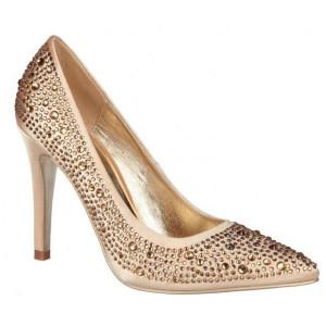 Pantofi dama eleganti, Auriu