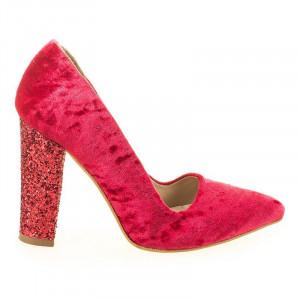 Pantofi de ocazie din velur Salma