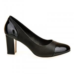 Pantofi office Adria blk