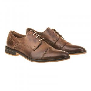 Pantofi office din piele naturala Italia Marcos