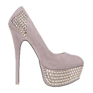 Pantofi Simone khaki