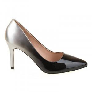 Pantofi stiletto Ami blk