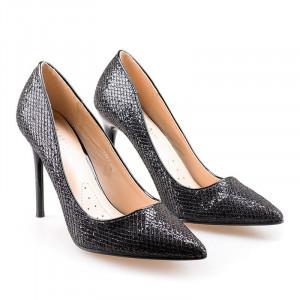Pantofi stiletto cu toc inalt Amalia