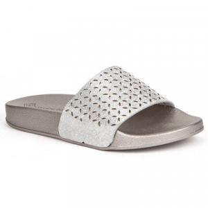 Papuci dama, Argintiu