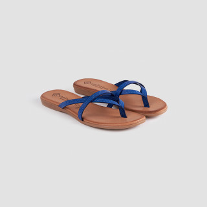 Papuci dama, GIA, Albastru