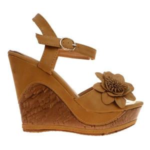 Sandale camel Giselle