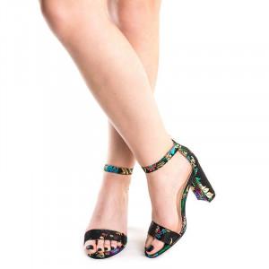 Sandale cu toc gros Ayami