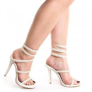 Sandale dama cu toc elegante Alessia
