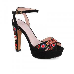 Sandale Dama, Elegante, Negru
