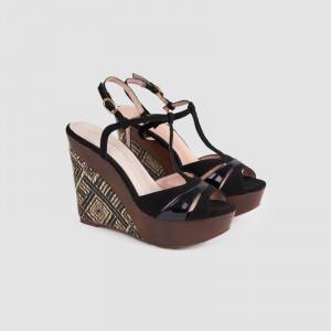 Sandale dama, ELESA, Negru