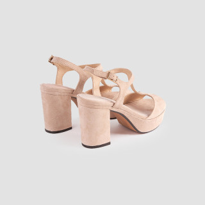 Sandale dama, GAILANA, Nude