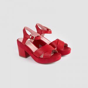 Sandale dama, GALA, Rosu