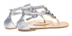 Sandale dama joase argintiu Spark