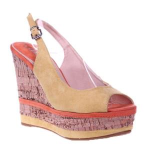 Sandale galbene Aneta
