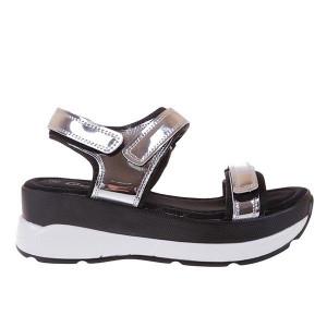 Sandale Next black silver
