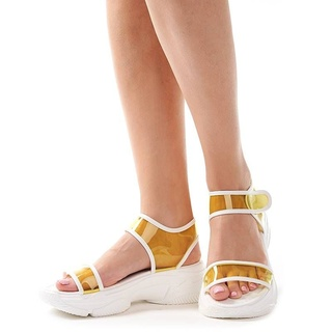 Sandale trendy cu talpa sport Camelia galeo