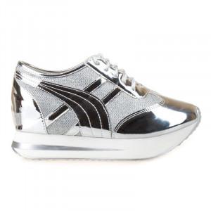 Sneakers cu talpa inalta Mia