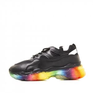 Sneakers dama Nella negru