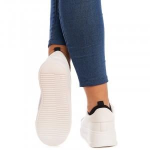 Sneakers Martina alb