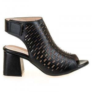 Sandale fashion cu toc gros Salma
