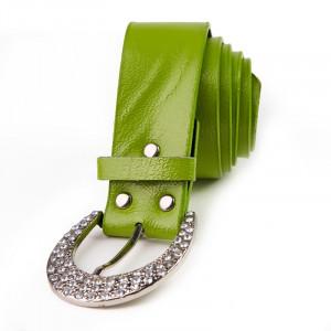 Curea dama cu pietre Yasmina verde