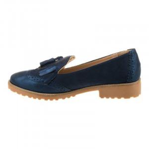 Mocasini Oxford Chic Dona Blu