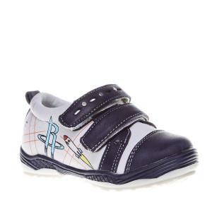Pantofi copii Bob blue/beige marimi 21-26