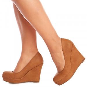 Pantofi cu talpa inalta Paris