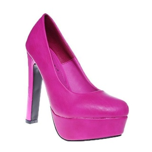 Pantofi platforma Bombone cyclam